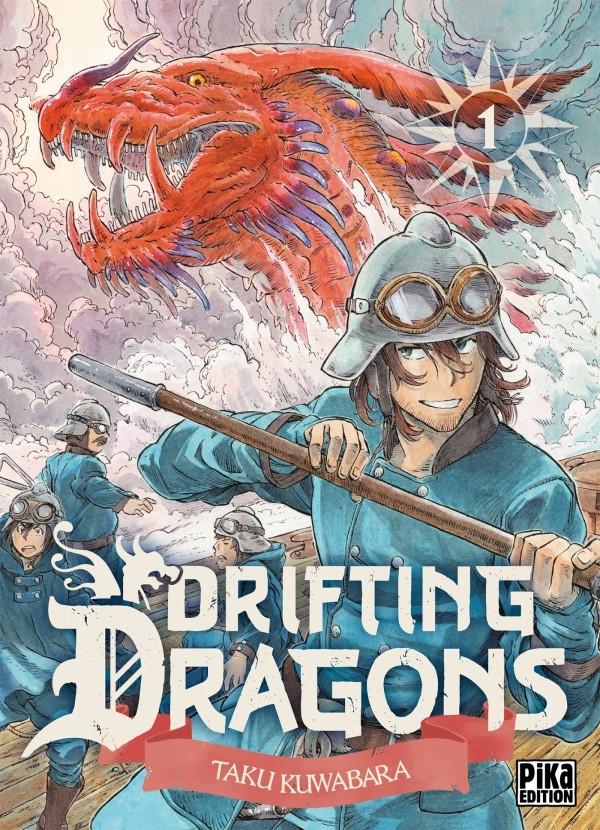 Couverture de Drifting Dragons - Tome 1