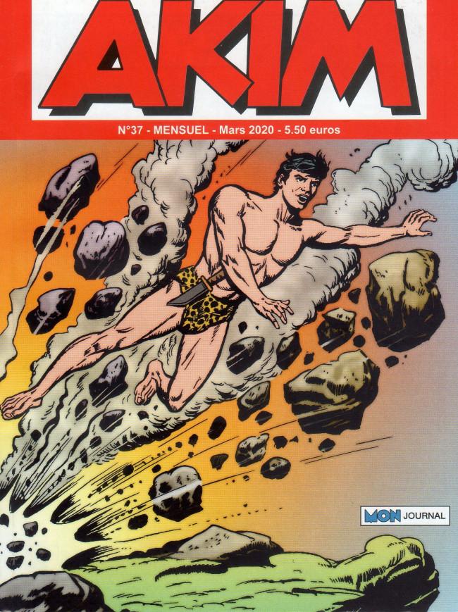 Couverture de Akim (3e série) -37- La mort sur la forêt - Duel sans merci!