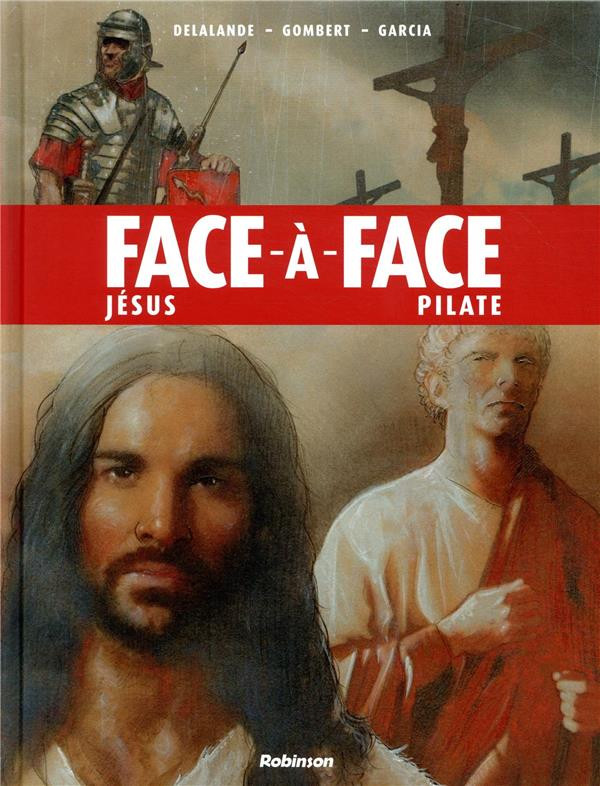 Couverture de Face-à-face -2- Jésus - Pilate
