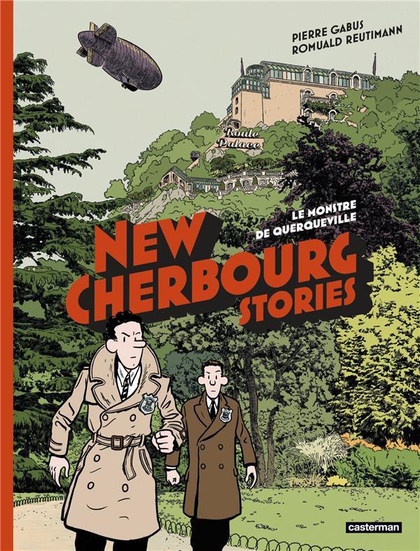 Couverture de New Cherbourg Stories -1- Le Monstre de Querqueville