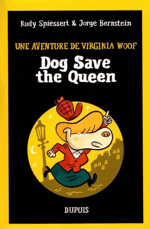 Couverture de Mini-récits et stripbooks Spirou -MR4274- Dog Save the Queen - Une aventure de Virginia Woof