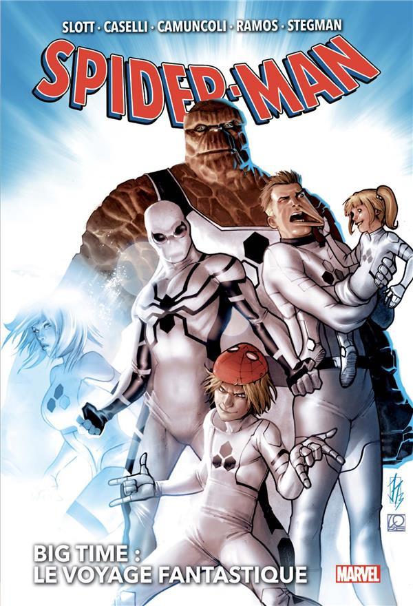 Couverture de Spider-Man : Big Time -2- Le voyage fantastique