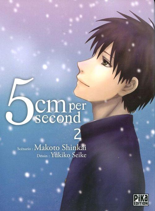 Couverture de 5 cm per second -2- Tome 2