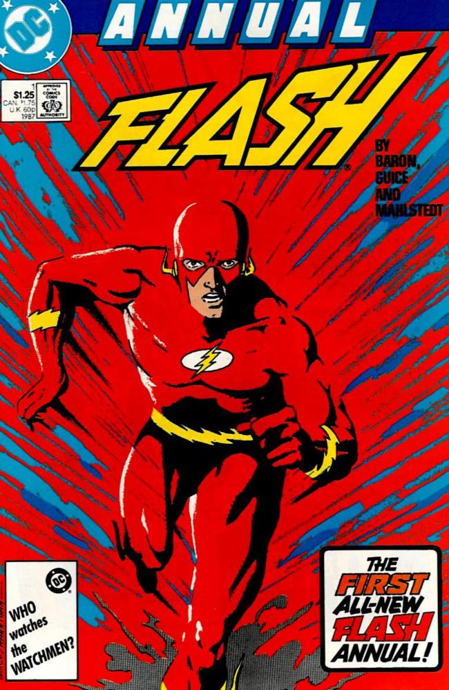 Couverture de Flash Annuals (The) (DC Comics - 1987 series) -AN01- Issue # 1