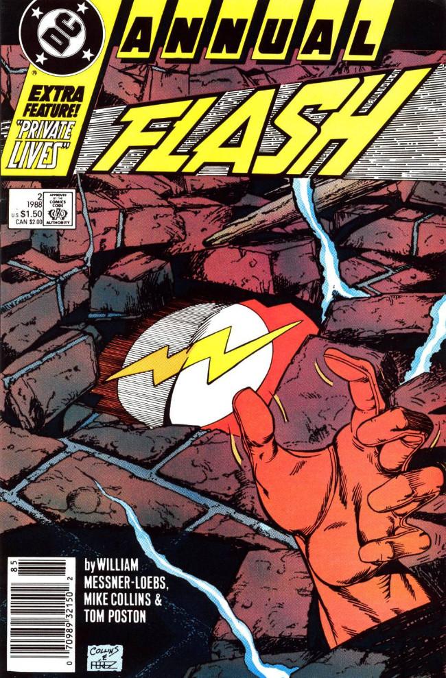 Couverture de Flash Annuals (The) (DC Comics - 1987 series) -AN02- Issue # 2