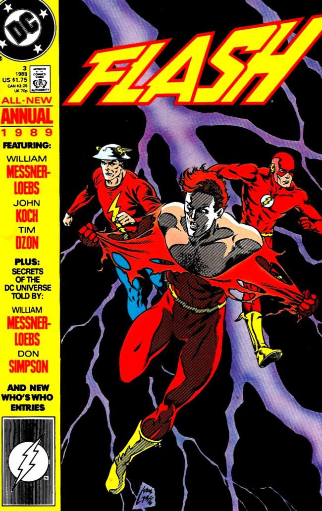 Couverture de Flash Annuals (The) (DC Comics - 1987 series) -AN03- Issue # 3