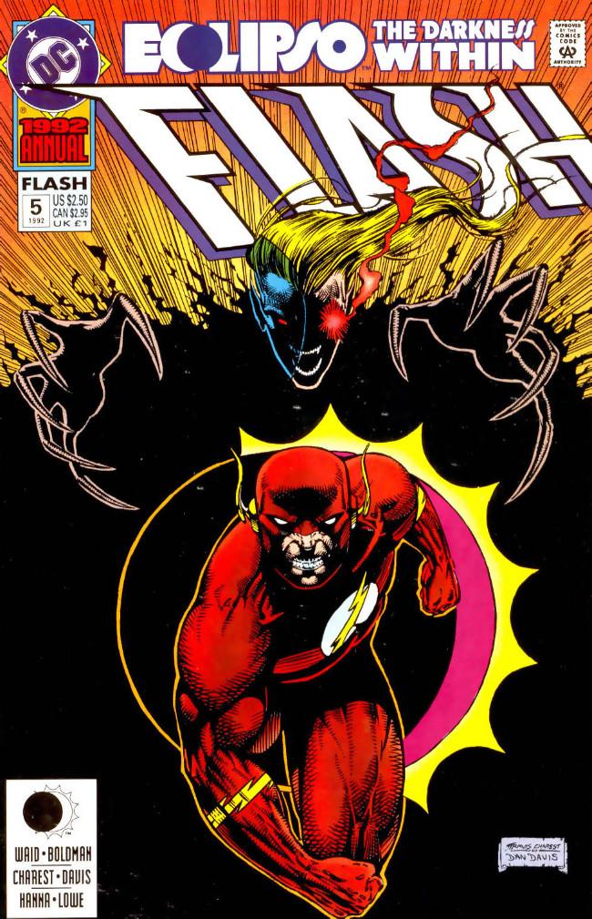 Couverture de Flash Annuals (The) (DC Comics - 1987 series) -AN05- Issue # 5