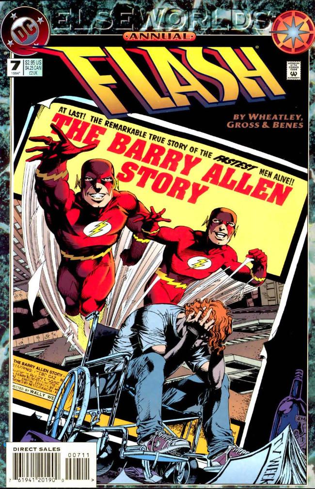 Couverture de Flash Annuals (The) (DC Comics - 1987 series) -AN07- The Barry Allen Story