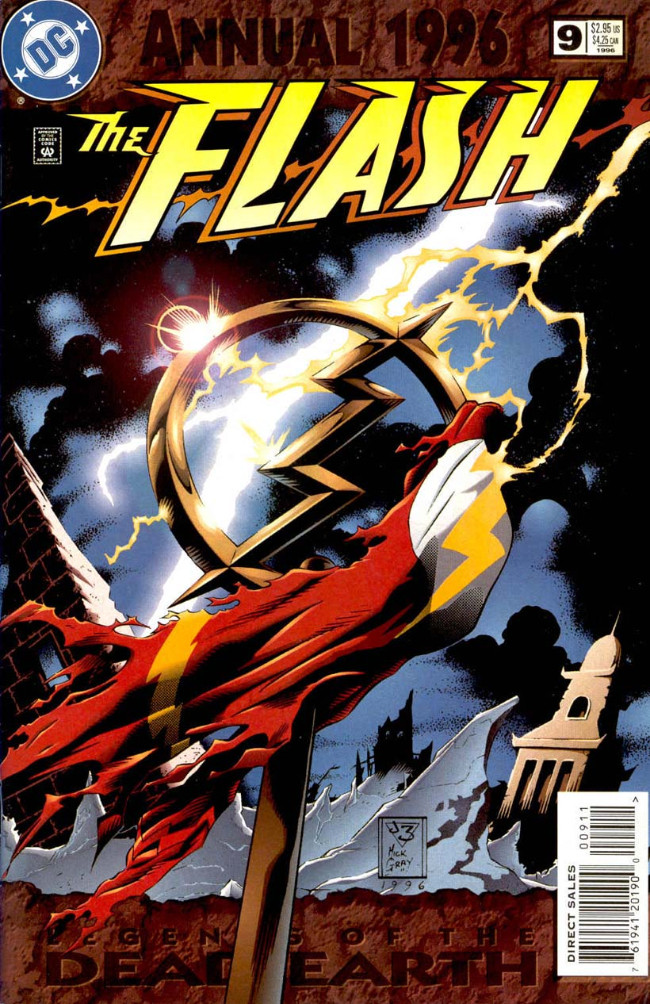 Couverture de Flash Annuals (The) (DC Comics - 1987 series) -AN09- Issue # 9