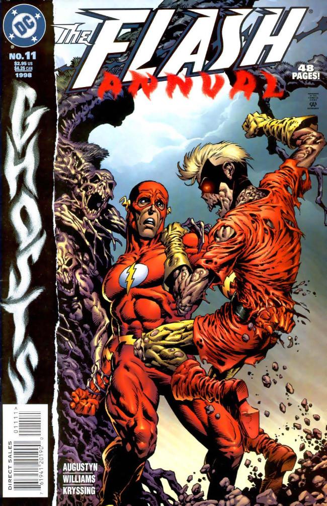 Couverture de Flash Annuals (The) (DC Comics - 1987 series) -AN11- Issue # 11