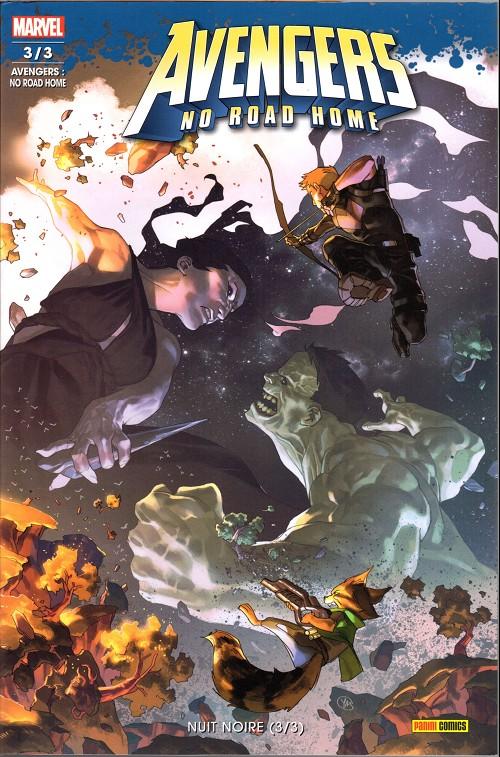 Couverture de Avengers No Road Home -3- Nuit noire (3/3)