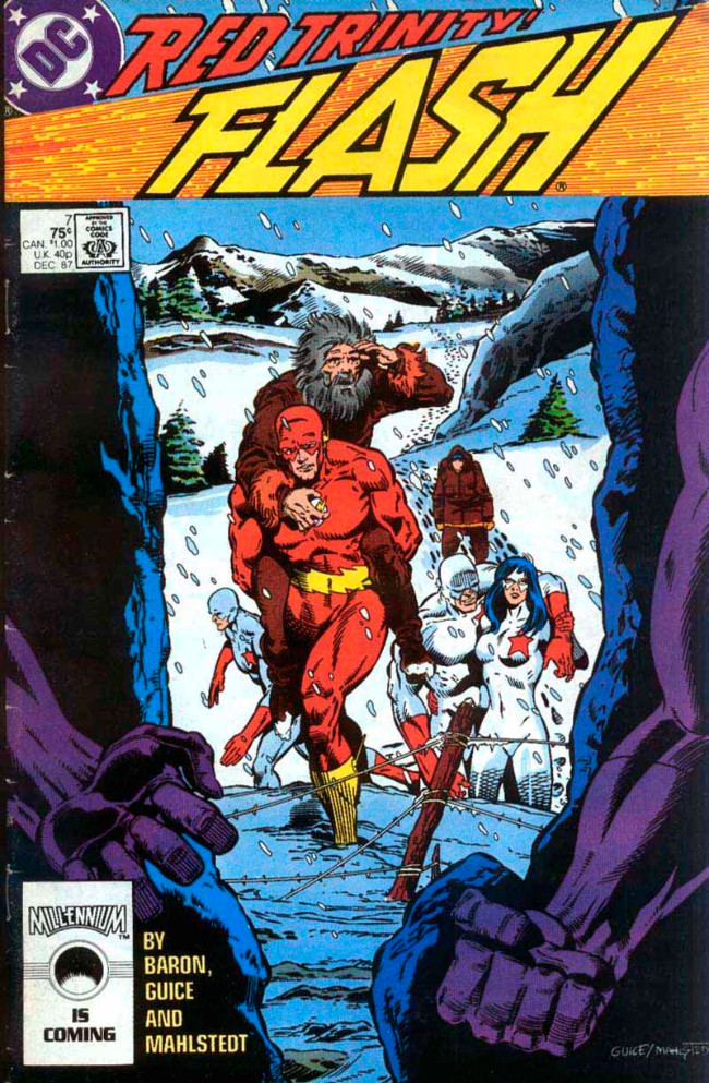 Couverture de Flash (The) Vol.2 (DC comics - 1987) -7- Red Trinity!