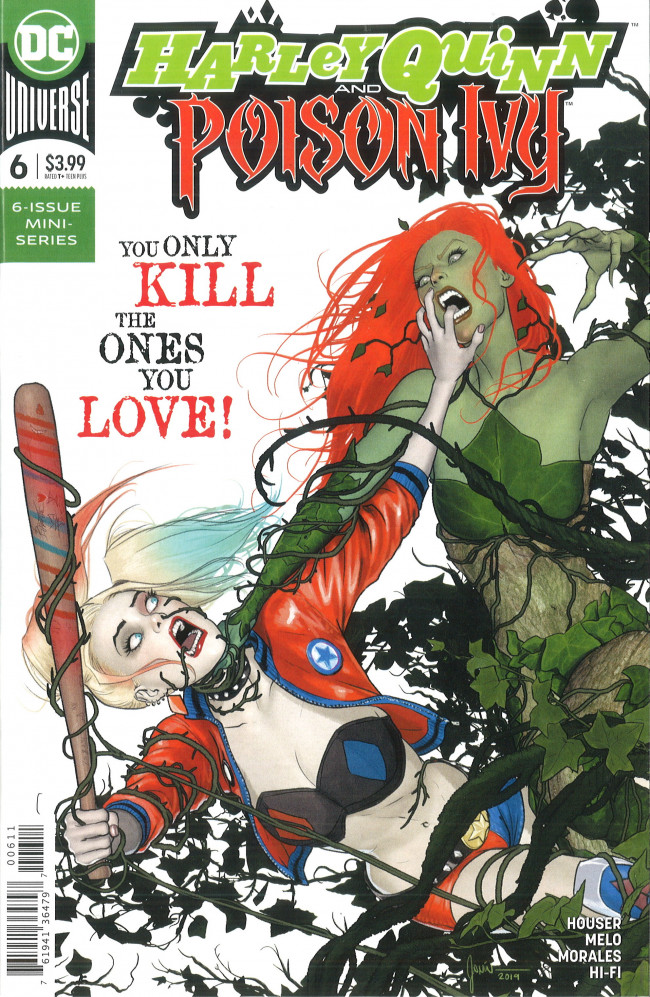 Couverture de Harley Quinn and Poison Ivy (2019) -6- The Fall