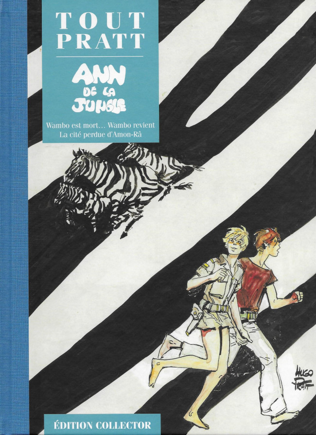 Couverture de Tout Pratt (collection Altaya) -32- Ann de la Jungle