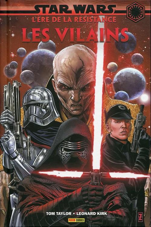 Couverture de Star Wars - L'Ère de la Résistance -2- Les vilains