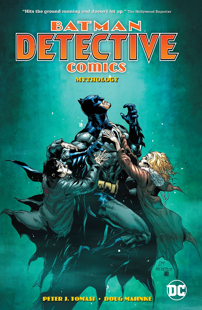 Couverture de Detective Comics (1937), période Rebirth (2016) -INT10- Vol.1 Mythology
