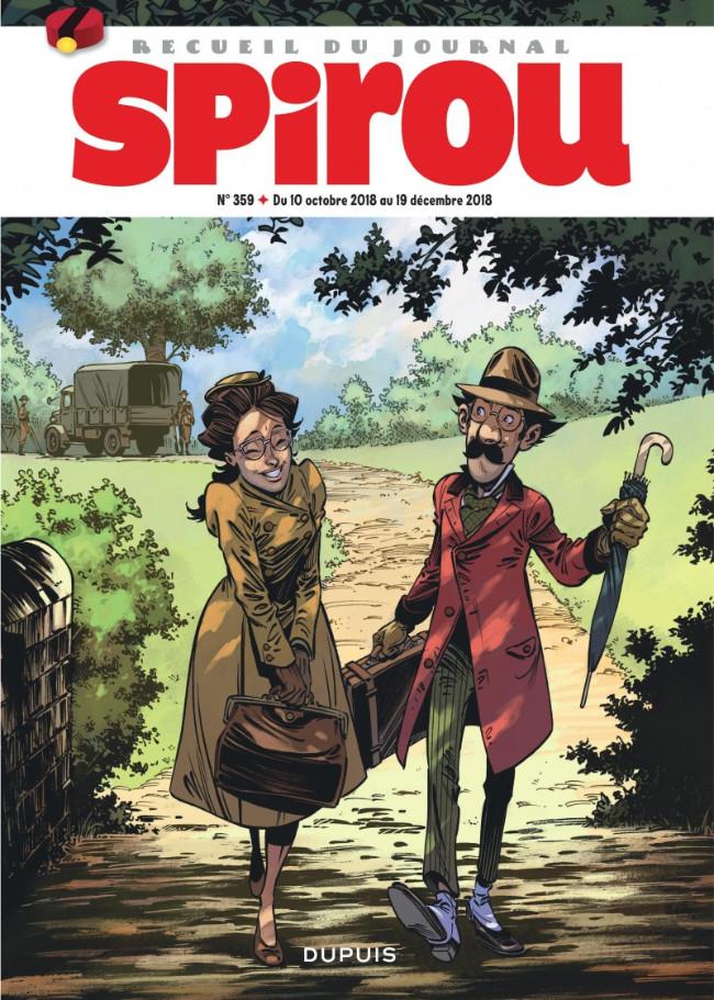 Couverture de (Recueil) Spirou (Album du journal) -359- Spirou album du journal
