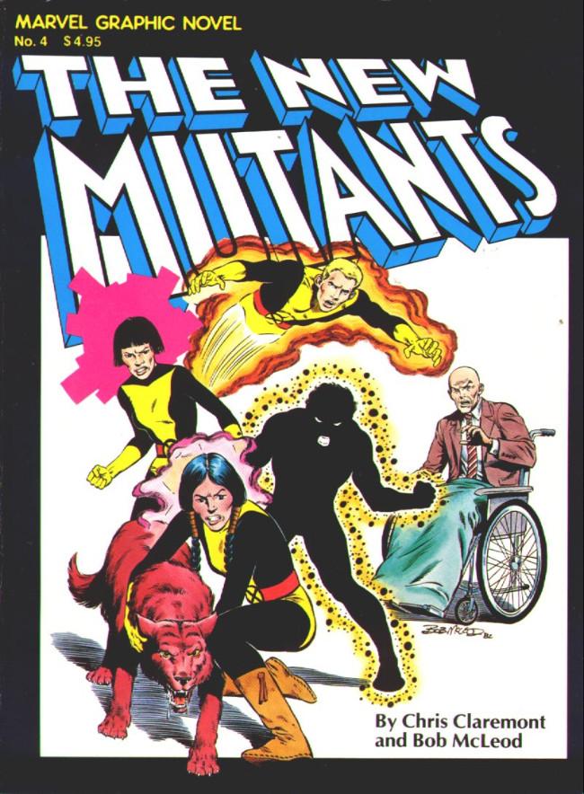 Couverture de Marvel Graphic Novel (Marvel comics - 1982) -4- The New Mutants