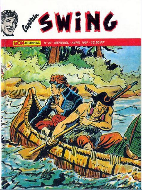 Couverture de Capt'ain Swing! (2e série - Mon Journal) -37- Les trois étoiles