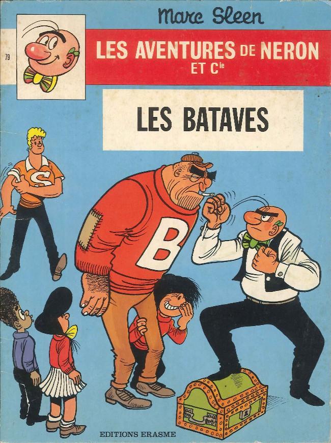 Couverture de Néron et Cie (Les Aventures de) (Érasme) -79- Les Bataves