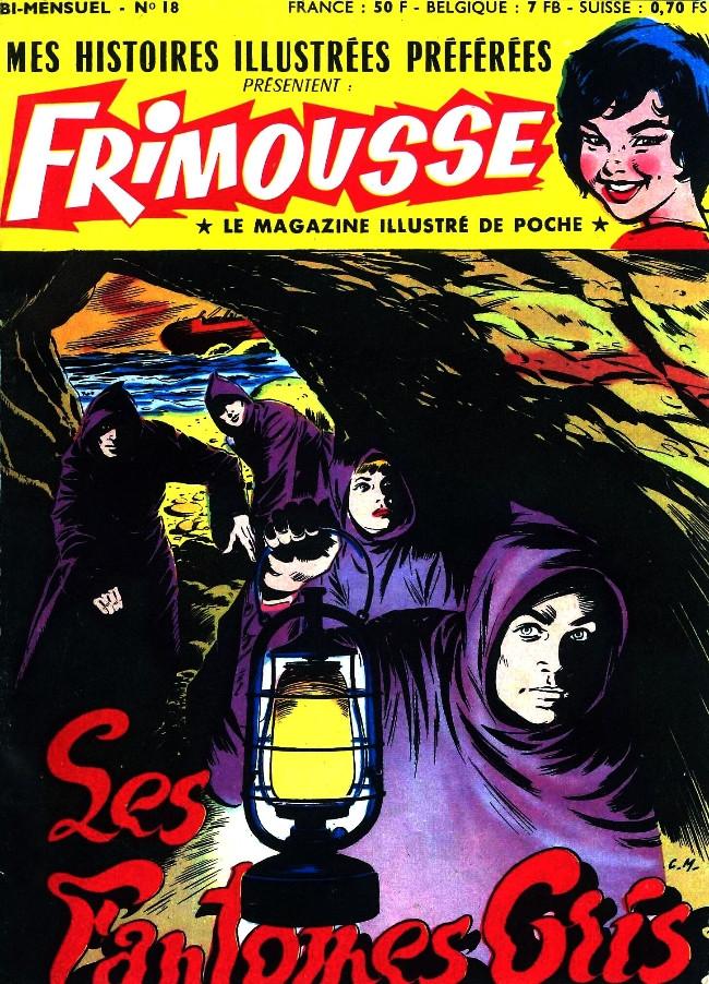 Couverture de Frimousse et Frimousse-Capucine -18- Les fantômes gris