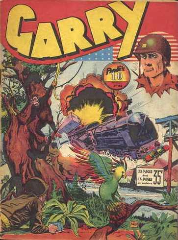 Couverture de Garry (sergent) (Imperia) (1re série grand format - 1 à 189) -63- L'énigme d'Alcatraz