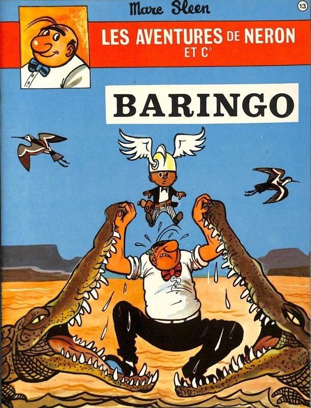 Couverture de Néron et Cie (Les Aventures de) (Érasme) -13- Baringo