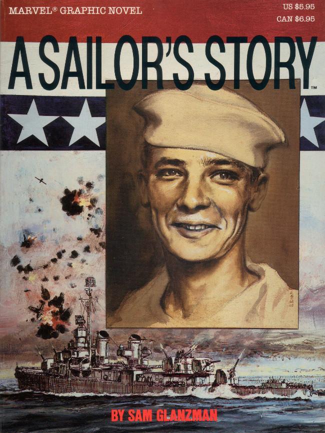 Couverture de Marvel Graphic Novel (Marvel comics - 1982) -30- A Sailor's Story