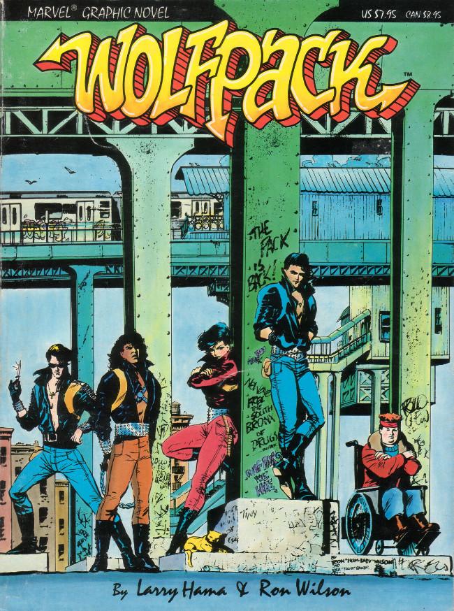 Couverture de Marvel Graphic Novel (Marvel comics - 1982) -31- Wolfpack