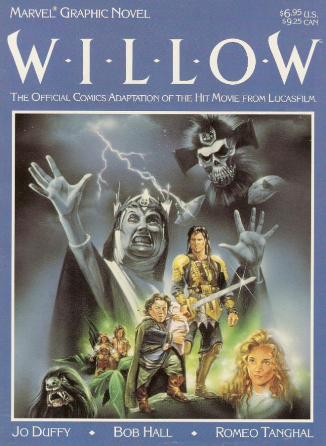 Couverture de Marvel Graphic Novel (Marvel comics - 1982) -36- Willow