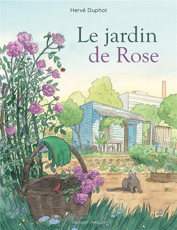 Couverture de Le jardin de Rose