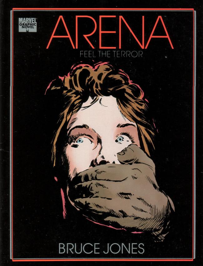 Couverture de Marvel Graphic Novel (Marvel comics - 1982) -45- Arena