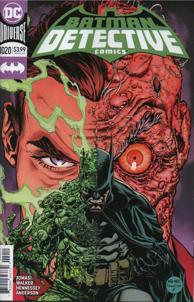 Couverture de Detective Comics (1937), période Rebirth (2016) -1020- Ugly Heart