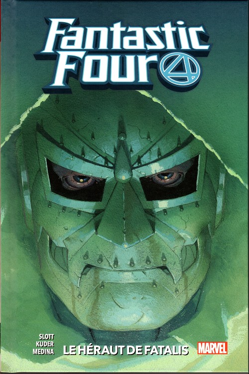 Couverture de Fantastic Four (100% Marvel - 2019) -3- Le héraut de fatalis