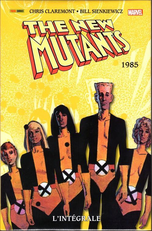 Couverture de New Mutants (The) (L'intégrale) -3- 1985