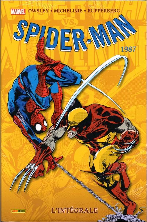 Couverture de Spider-Man (L'Intégrale) -25INT- Spider-man : l'intégrale 1987