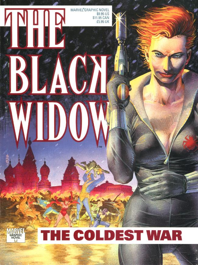 Couverture de Marvel Graphic Novel (Marvel comics - 1982) -61- The Black Widow: The Coldest War