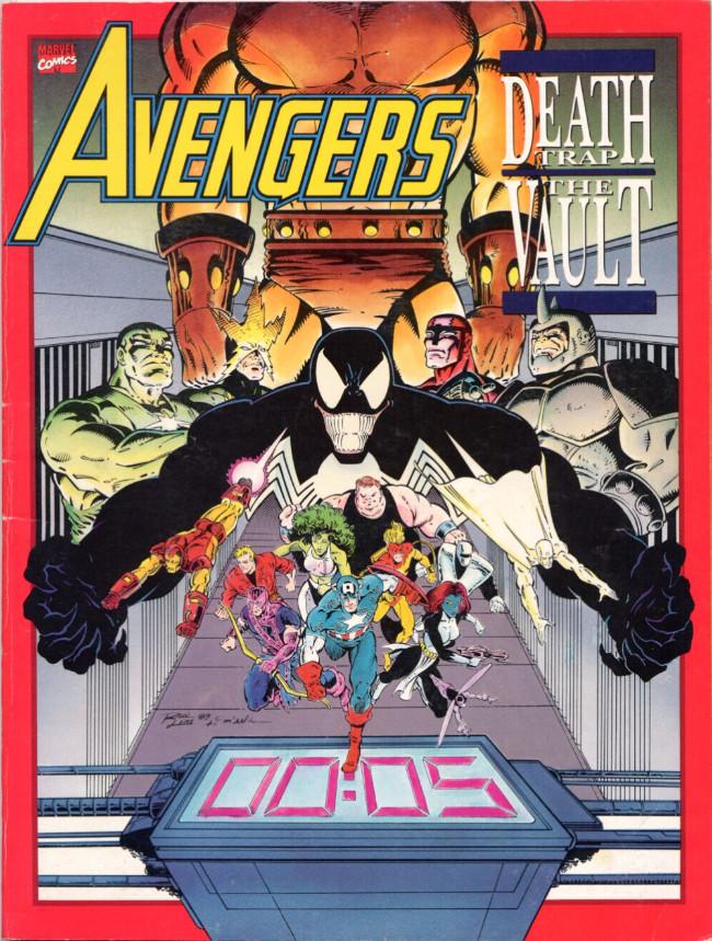 Couverture de Marvel Graphic Novel (Marvel comics - 1982) -68- Avengers: Death Trap: The Vault