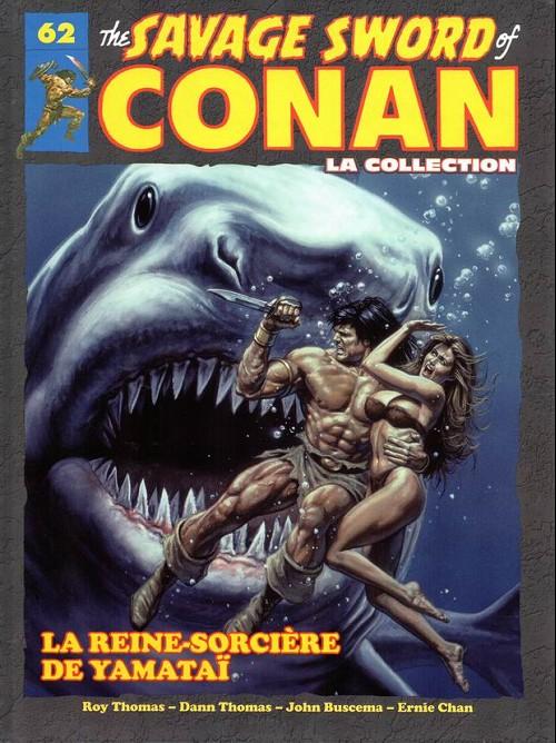 Couverture de Savage Sword of Conan (The) - La Collection (Hachette) -62- La reine-sorcière de yamataï