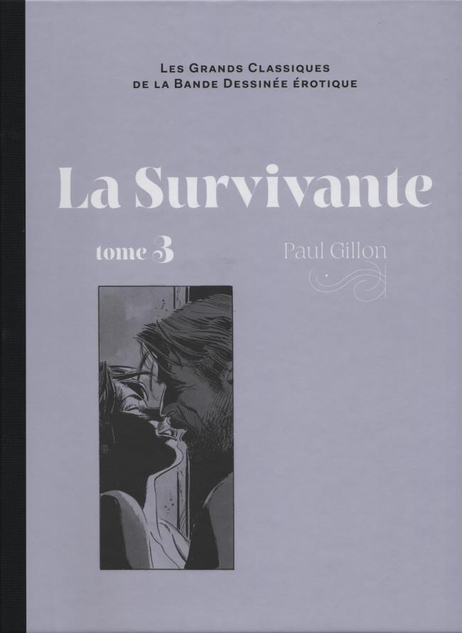 Couverture de Les grands Classiques de la Bande Dessinée érotique - La Collection -101106- La Survivante - Tome 3