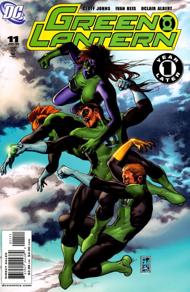 Couverture de Green Lantern (2005) -11- Revenge Of The Green Lanterns, Part 2