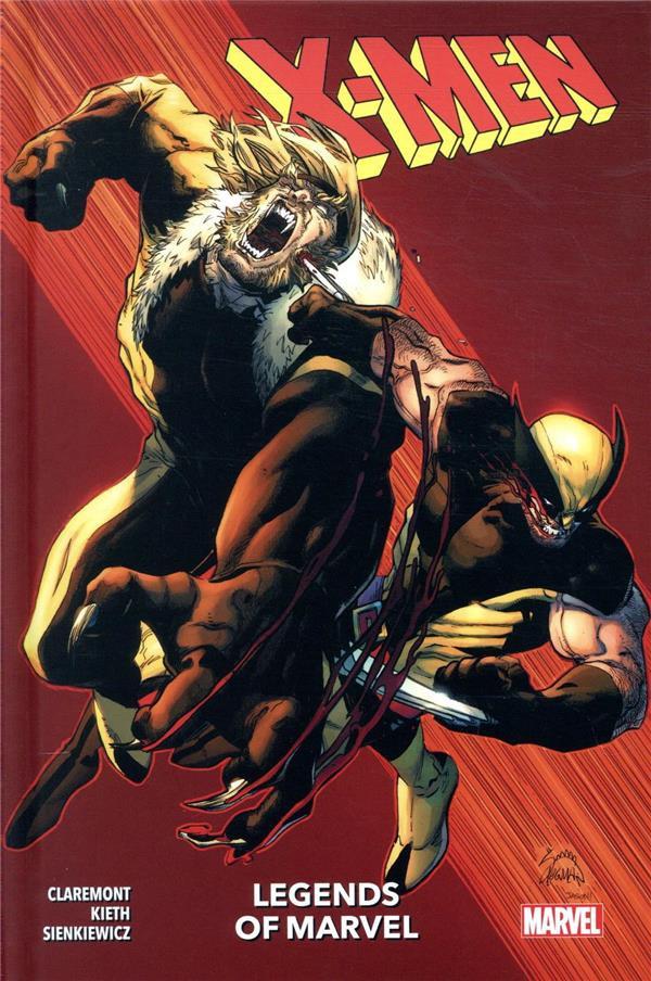 Couverture de Legends of Marvel - X-Men
