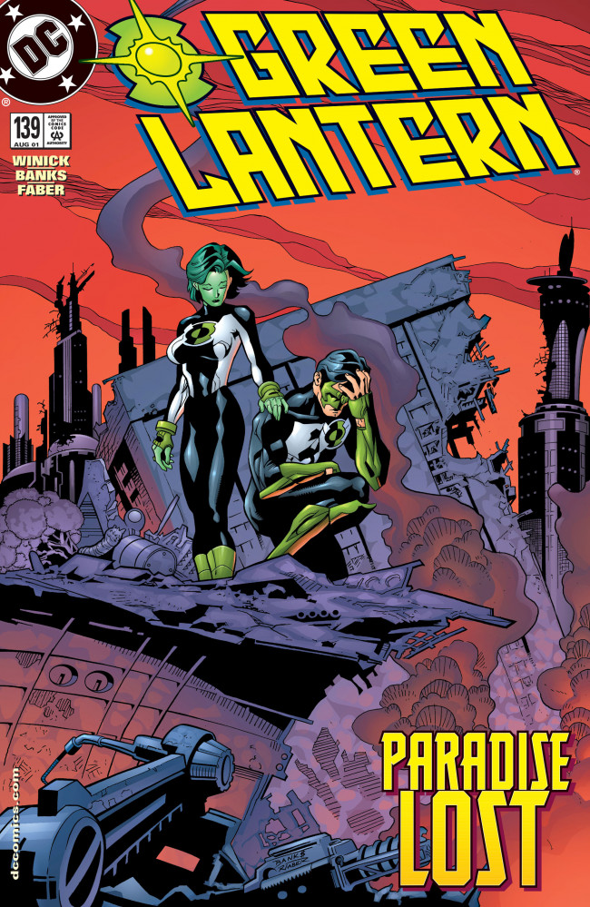 Couverture de Green lantern (1990) -139- Away from Home, Part 2