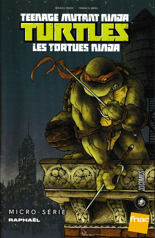 Couverture de Teenage Mutant Ninja Turtles - Les Tortues Ninja (HiComics) -HS- Micro-série - Raphaël
