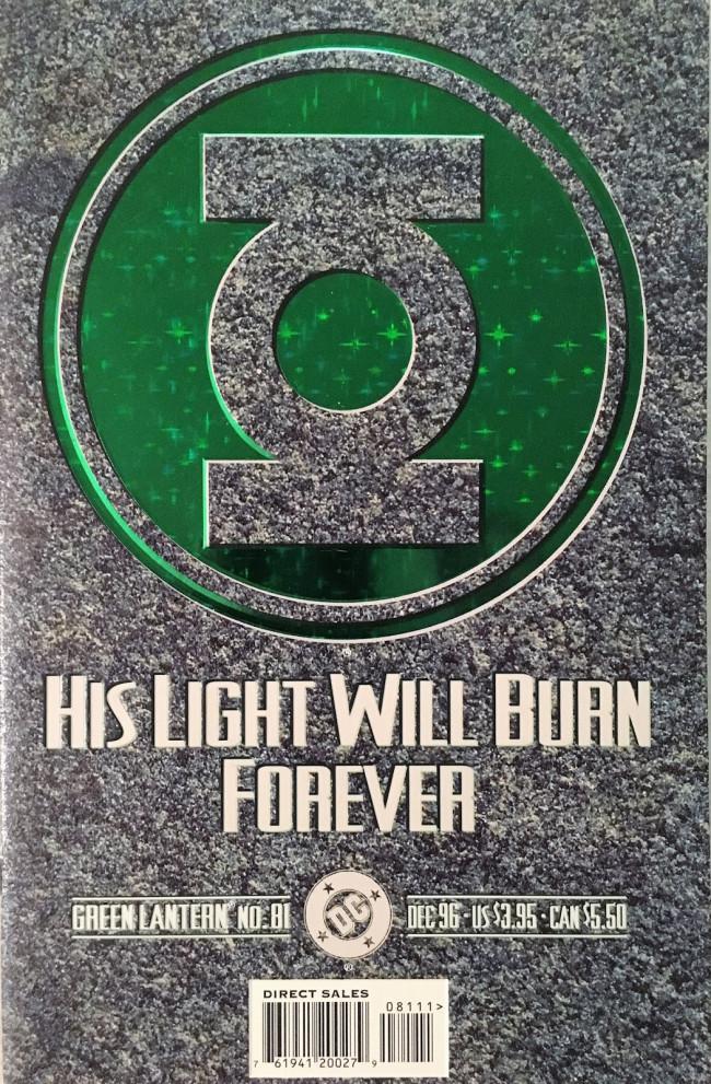 Couverture de Green lantern (1990) -81- Funeral For A Hero