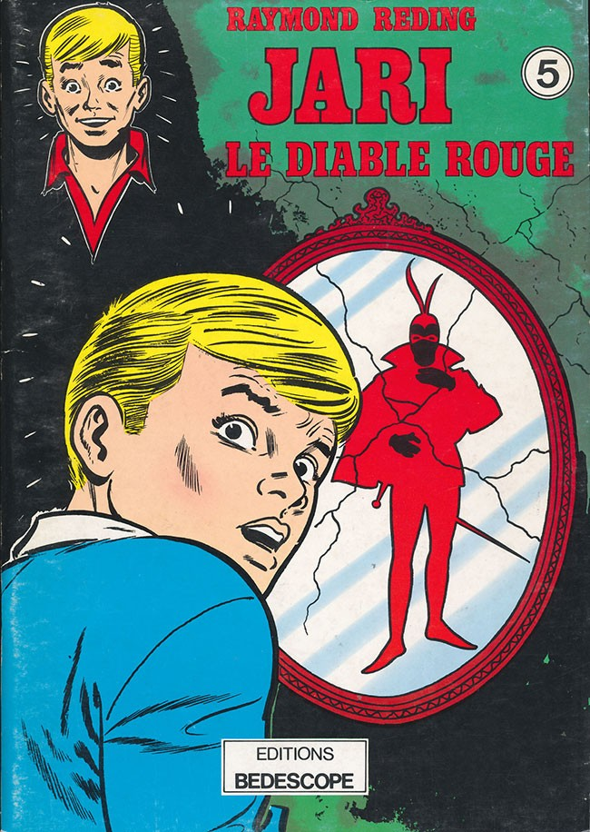Couverture de Jari -9- Le diable rouge