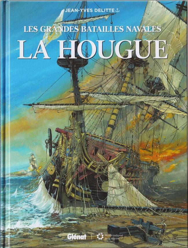 Couverture de Les grandes batailles navales -14- La Hougue