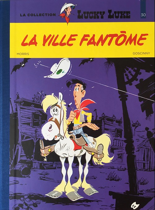 Couverture de Lucky Luke - La collection (Hachette 2018) -3025- La ville fantôme