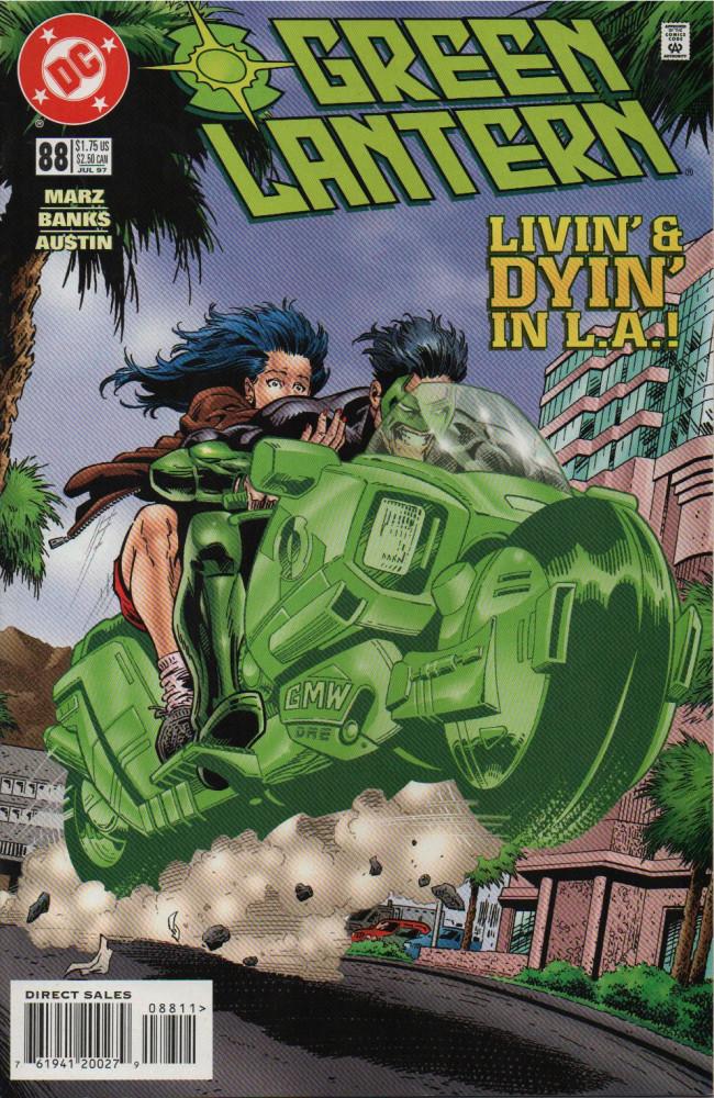 Couverture de Green lantern (1990) -88- ...Go Home Again
