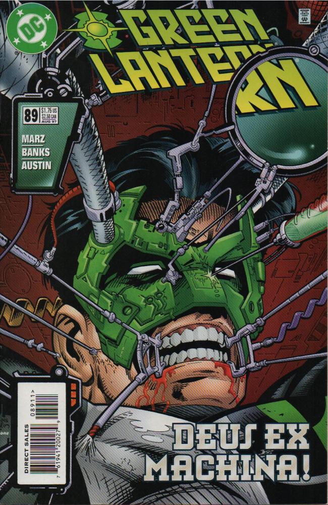 Couverture de Green lantern (1990) -89- Man & Machine